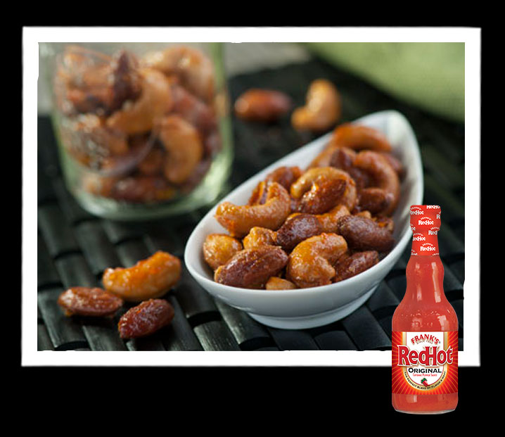 Frank's RedHot Honey Glazed Nuts
